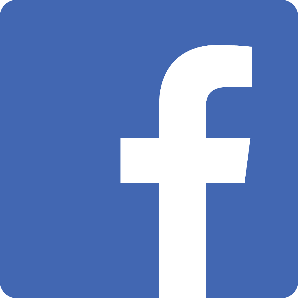 facebook social icon blue