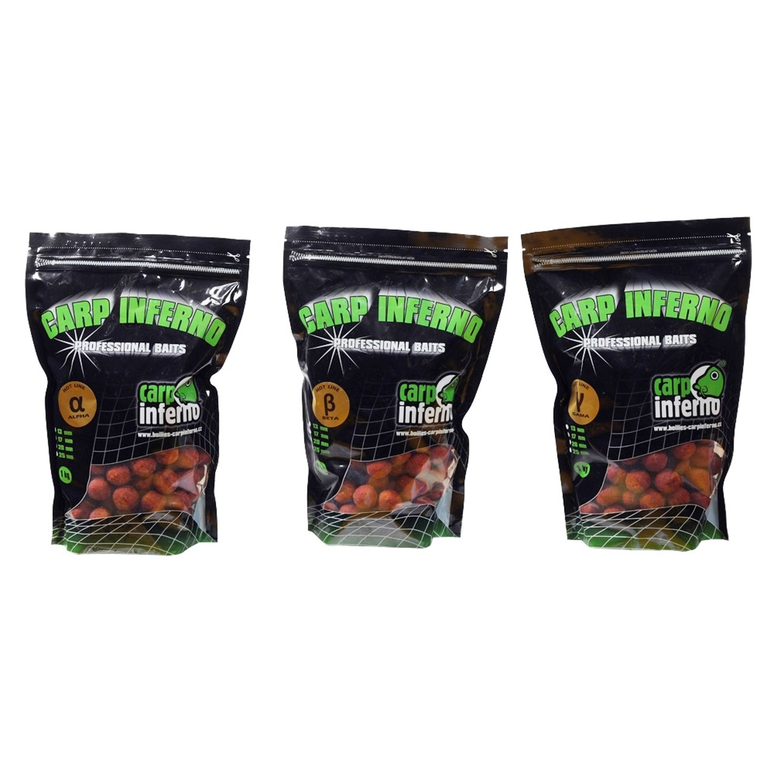 CARP INFERNO Boilies Hot Line|Gama - 20mm, 1kg
