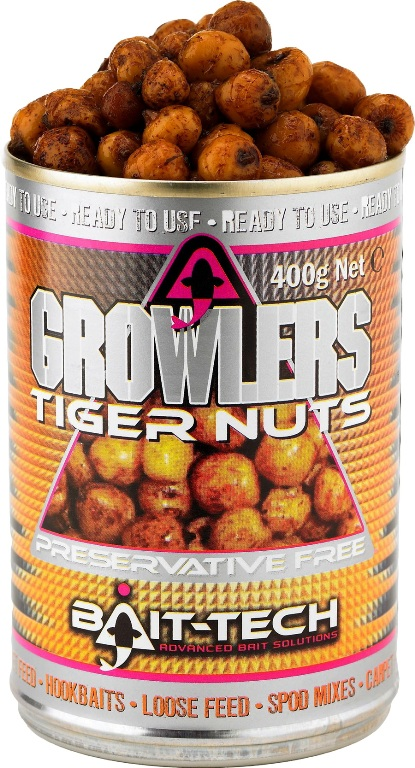 BAIT-TECH Tygrí orech v náleve Growlers Tiger Nuts (400g)