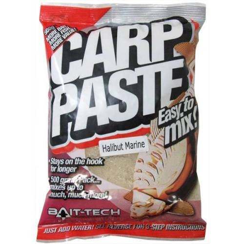 BAIT-TECH Kaprové cesto - Carp Paste Natural Fishmeal 500g