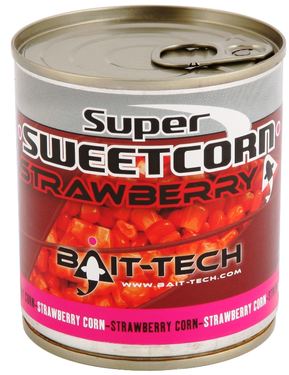 BAIT-TECH Kukurica - Super Sweetcorn Strawberry 300g