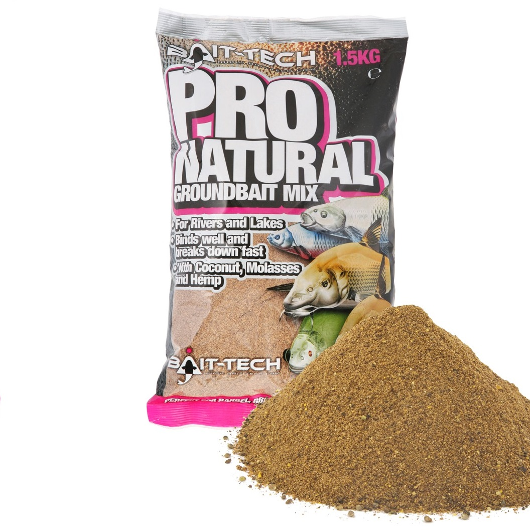 BAIT-TECH Pro-Natural Groundbait (1.5kg)