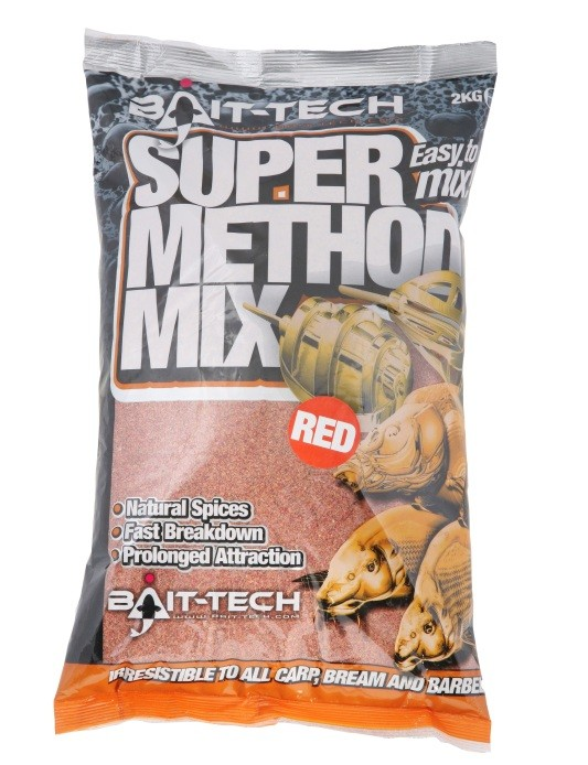 Krmítková směs Super Method Mix Red 2kg
