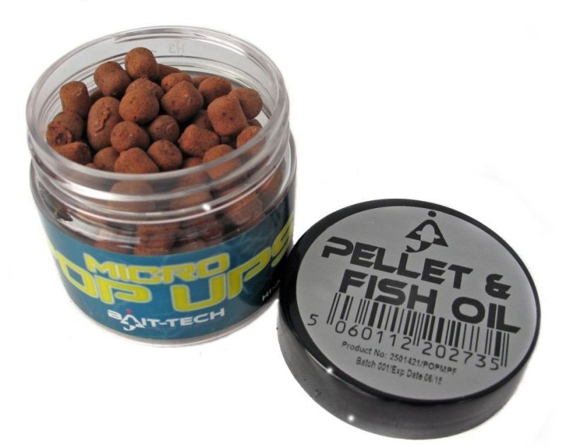 BAIT-TECH Boilies Micro Pop-Ups Pellet & Fish Oil 50ml