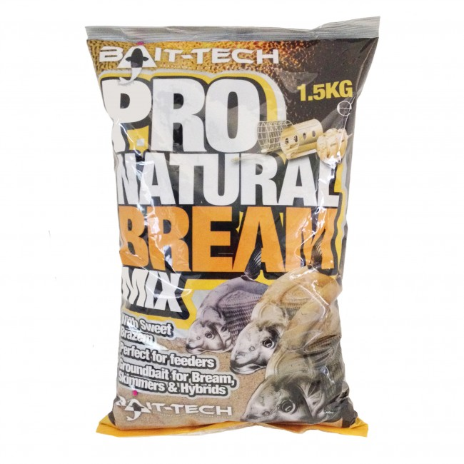 BAIT-TECH Krmitková zmes - Pro-Natural Bream Groundbait Mix 1.5kg