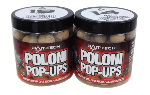 BAIT-TECH Boilies Poloni Pop-Ups 18mm, 70g