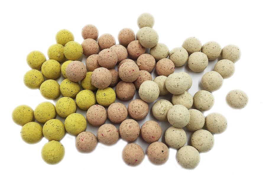 BAIT-TECH  Boilies - Poloni Washed Out Pop-Ups 14mm, 70g