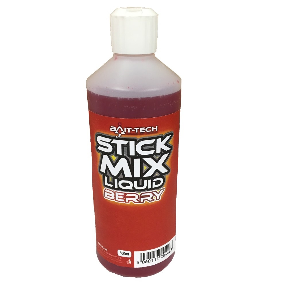 BAIT-TECH Tekutý olej - Stick Mix Liquid Berry 500 ml