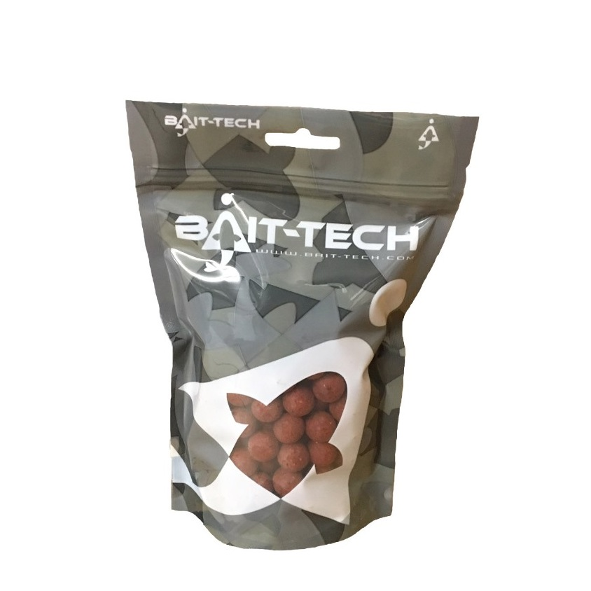 BAIT-TECH Boilies - Krill & Tuna - Handy Pack 15mm, 300g