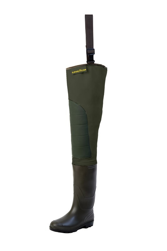 Goodyear Hip Waders Cuissarde SP Green 40 holinky