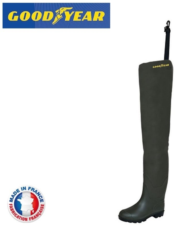 Holinky Hip Waders Cuissarde Light, vel.43