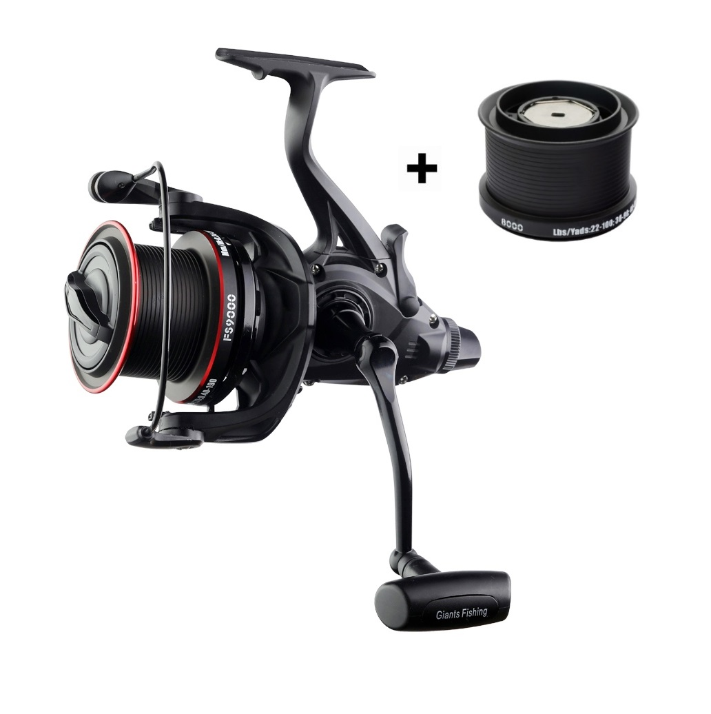 Giants fishing Giants fishing Naviják Gaube Reel FS 9000 + cívka 8000 ZDARMA!