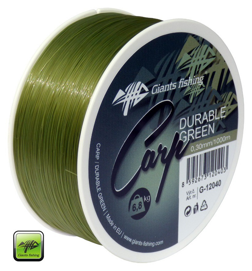 Vlasec Carp Durable Green 0,30mm/1000m