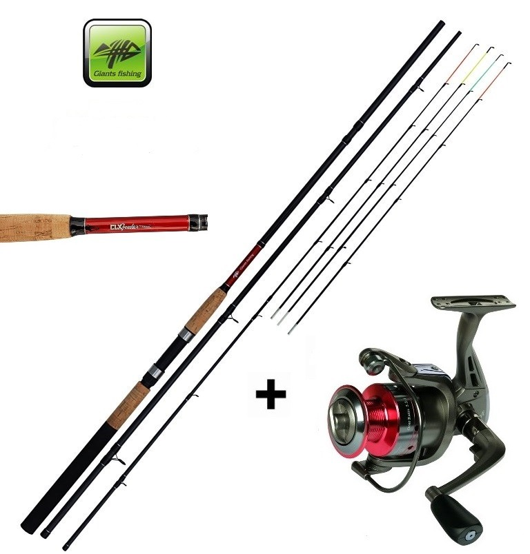 Giants Fishing Prut CLX Feeder TR 11ft Medium + naviják zdarma!