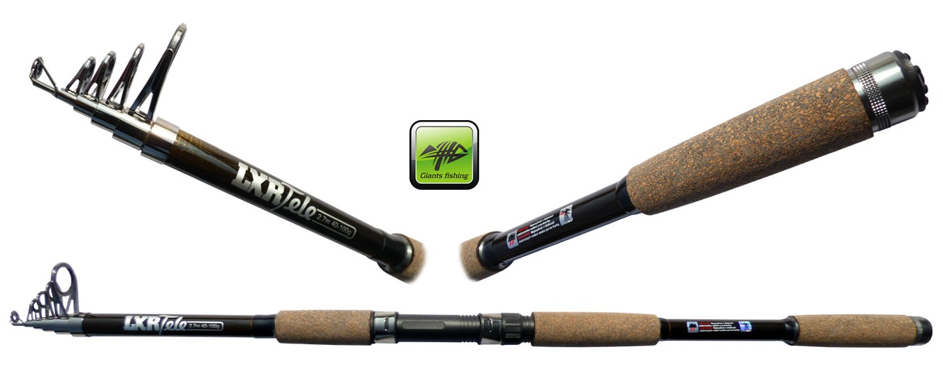 GIANTS FISHING Prút - LXR Tele 2,7m 40-100g