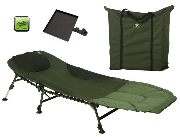 Lehátko Bedchair FLX 6Leg with Table/Bag
