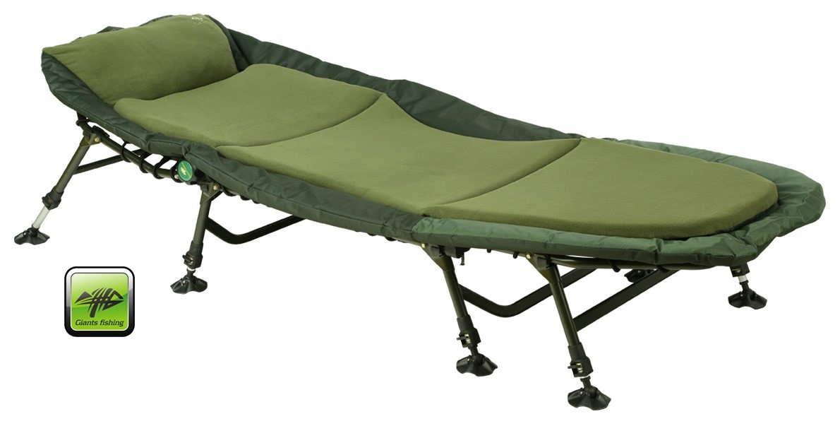 Giants Fishing Bedchair Fleece 8Leg MKII lehátko