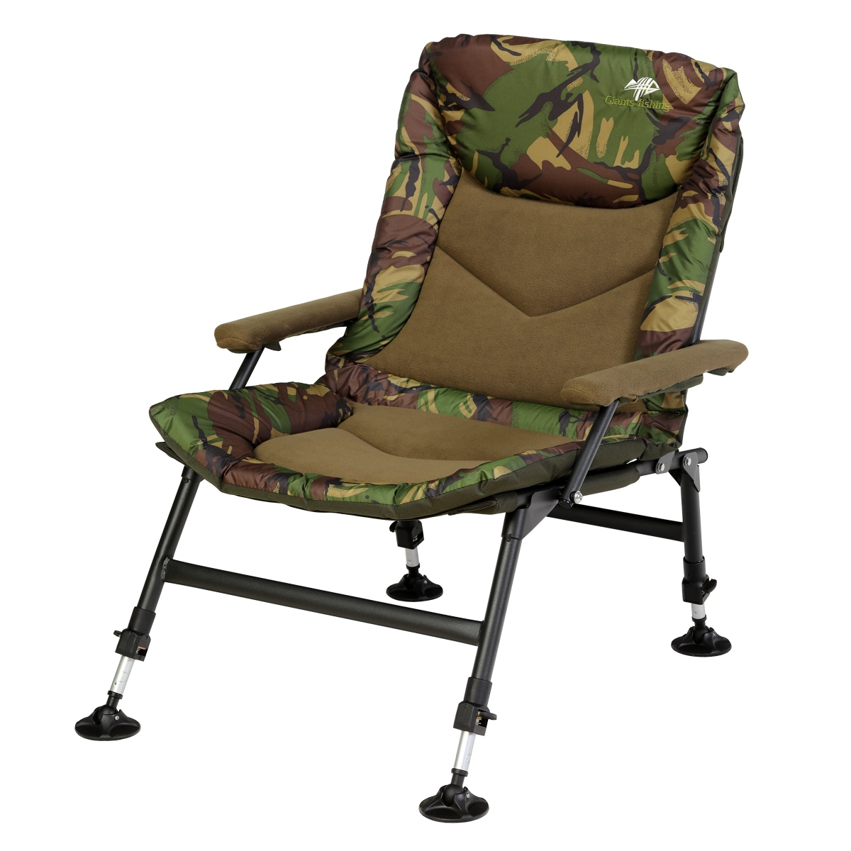 Sedačka Compact Fleece Camo Chair