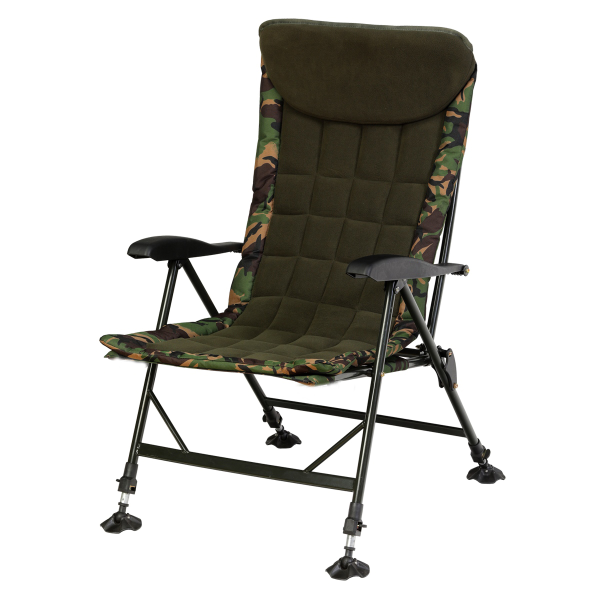 GIANTS FISHING Kreslo - Komfy Camo Chair