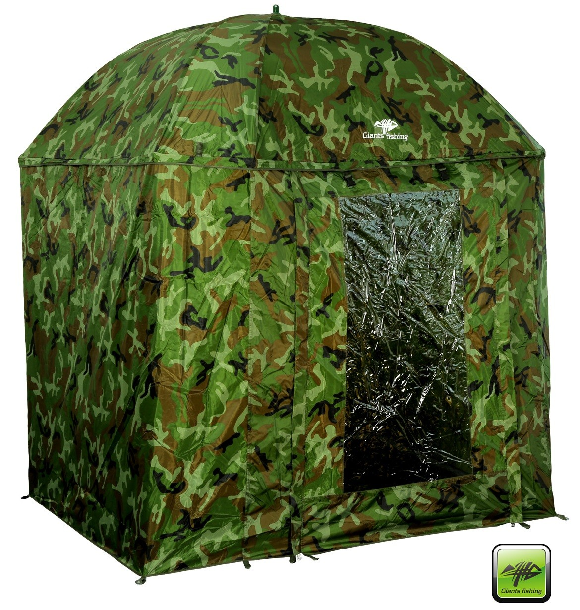 Giants Fishing Full Cover Square Camo Umbrella 250cm deštník