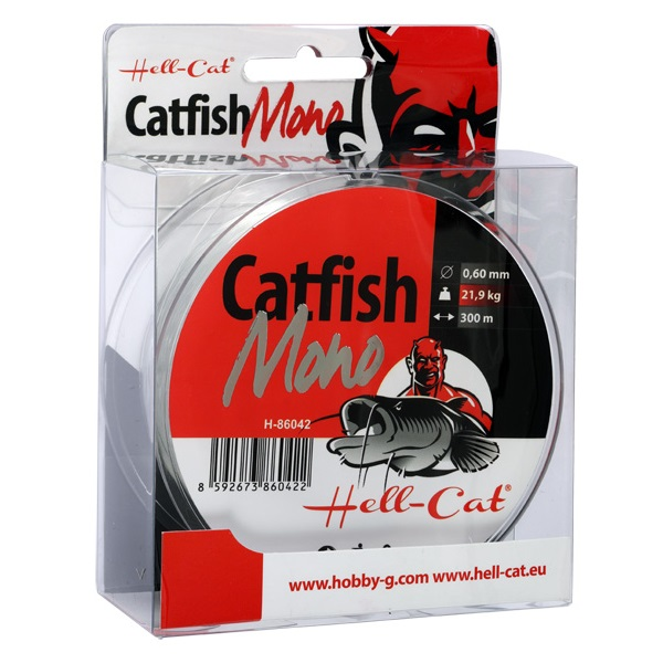 Vlasec Hell-Cat Catfish Mono Clear 300m|0,65mm