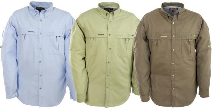 Superlight Fishing Shirt Stone Long Sleeve, vel.L