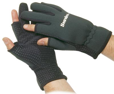 Snowbee Rukavice NEOPRENE GLOVES, vel. L