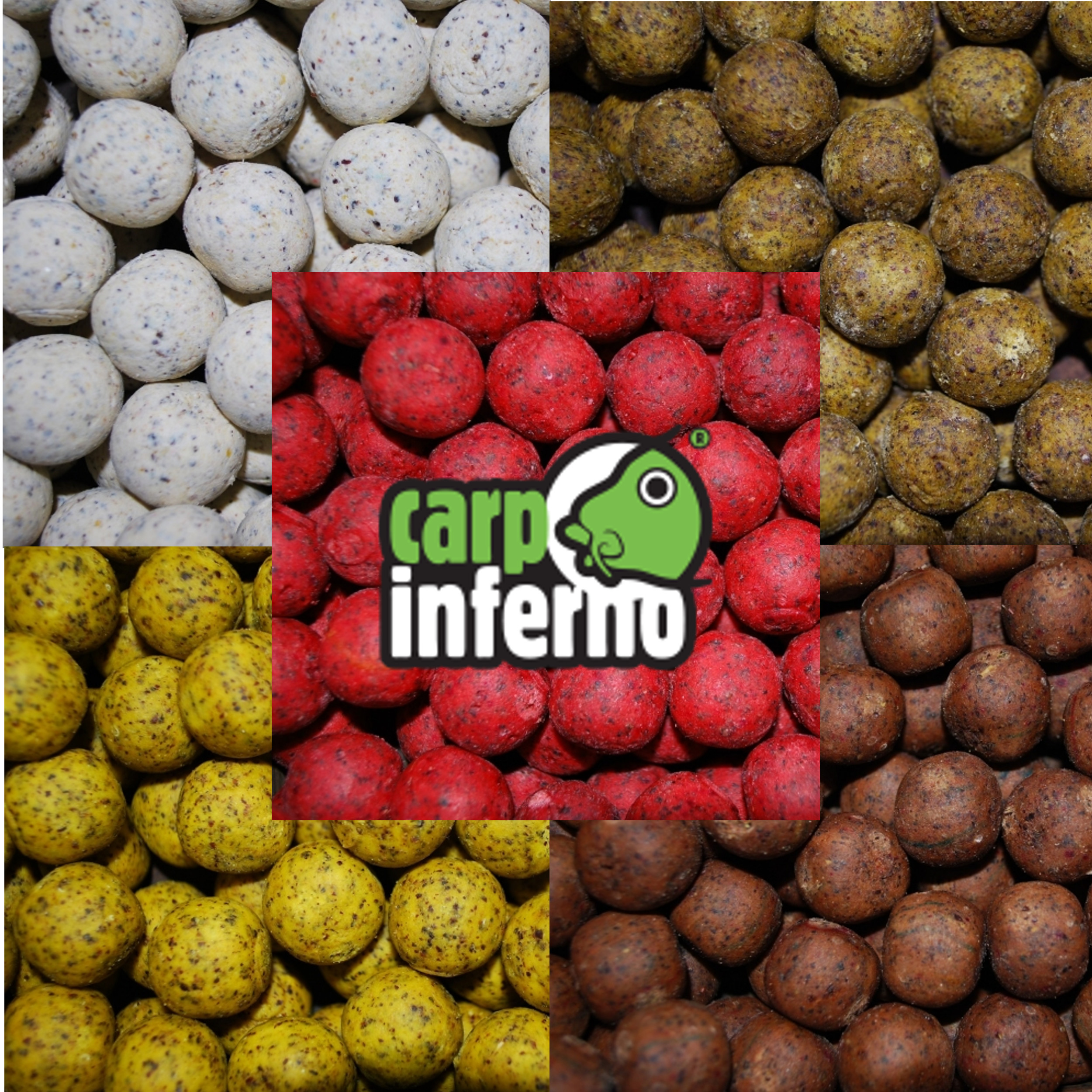 CARP INFERNO Boilies Light Line 20mm, 3kg - BANÁN RYBA