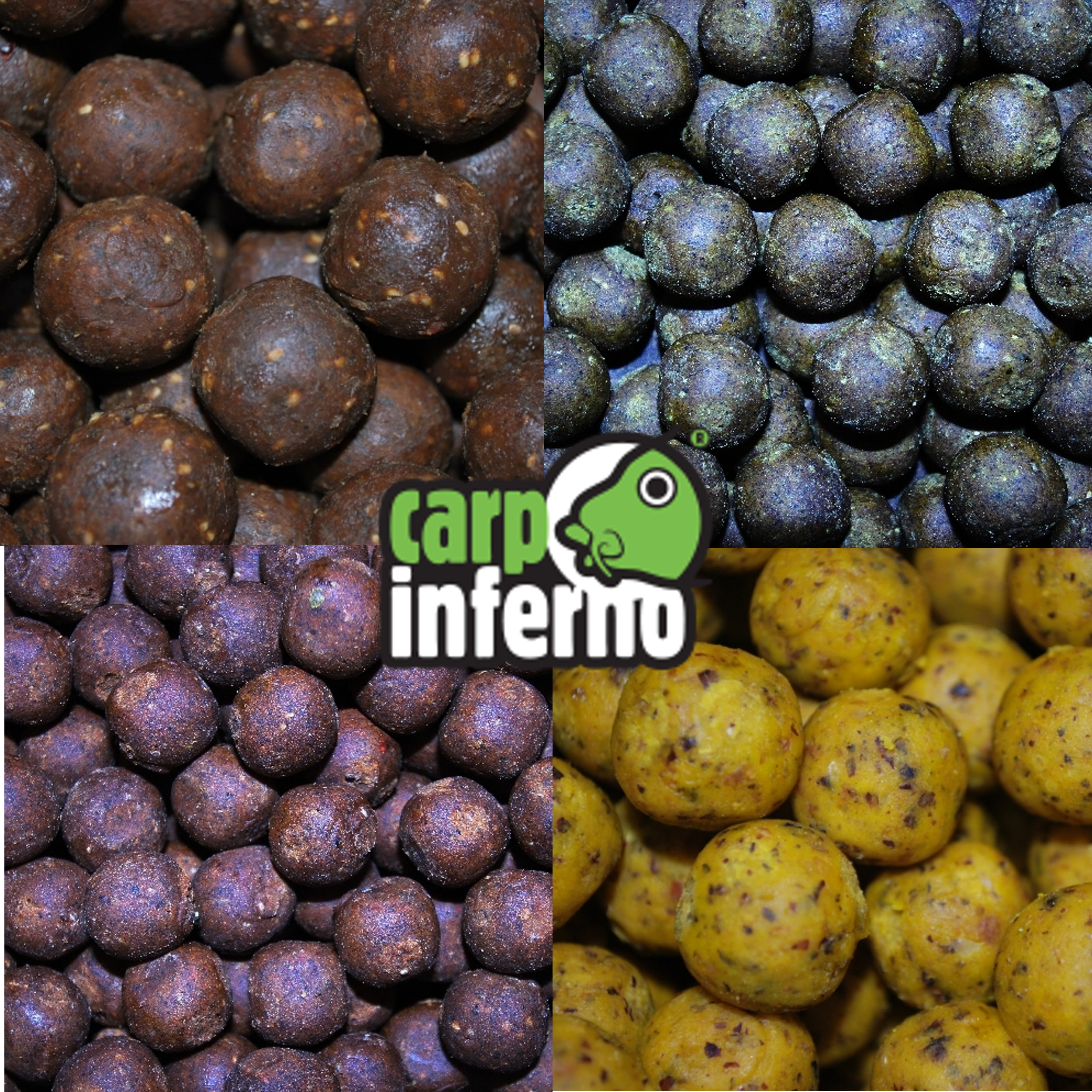 CARP INFERNO Boilies Ocean food|Krill & Octopus - 20mm, 1kg