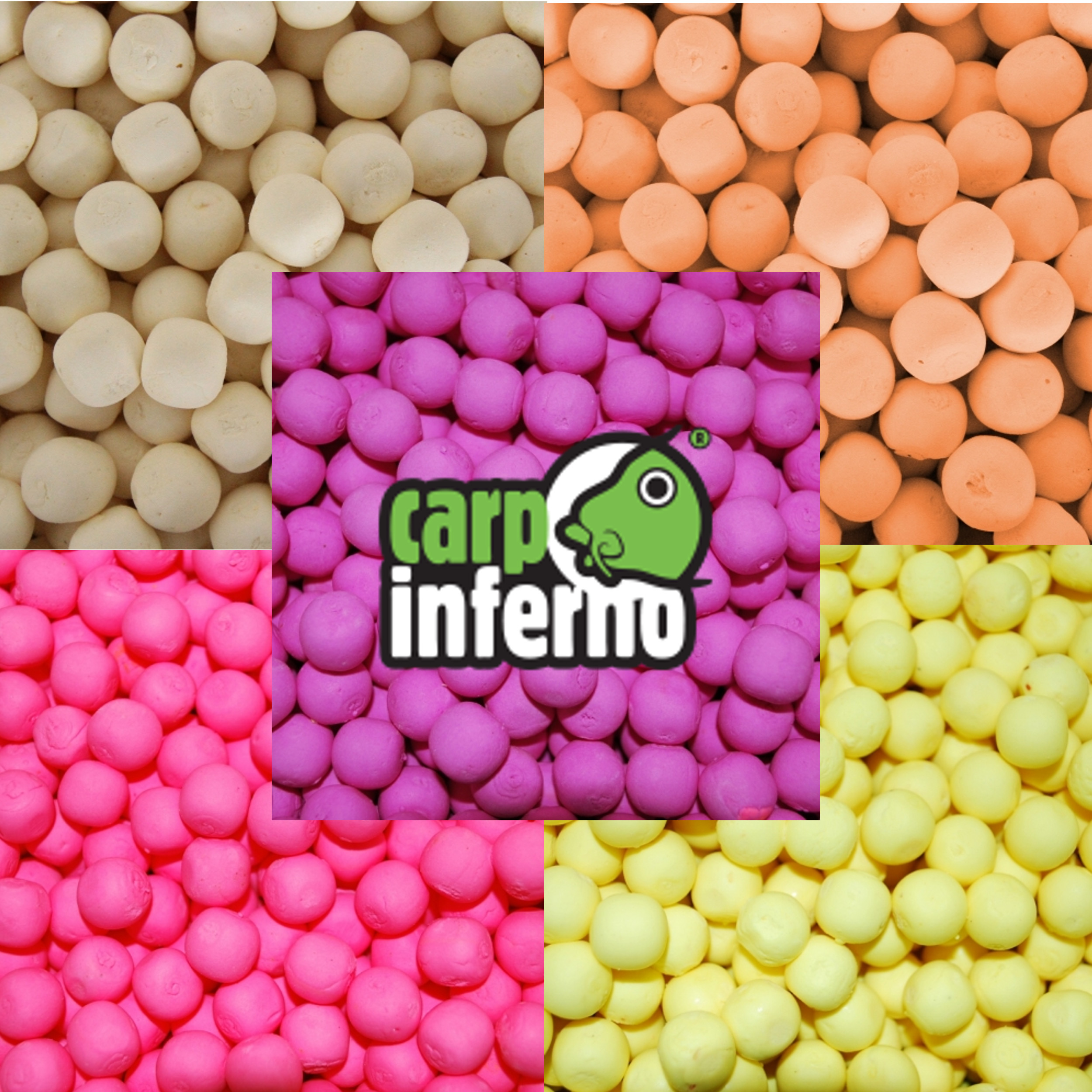 Carp Inferno Pop - up boilies 13 mm 150 ml|Citrus (žlutá)