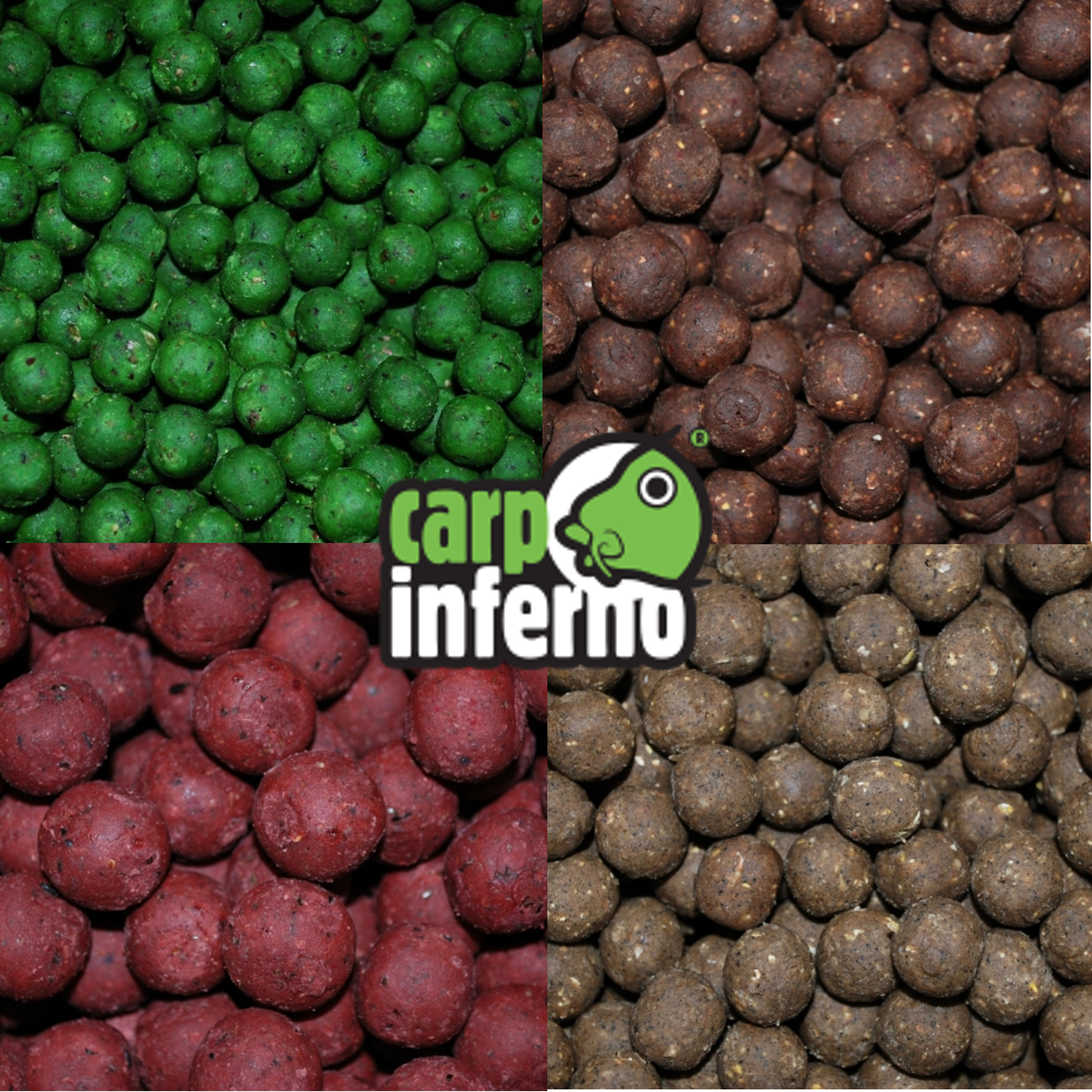 Carp Inferno Boilies Protein line 1 kg 20 mm|Škeble&Patentka