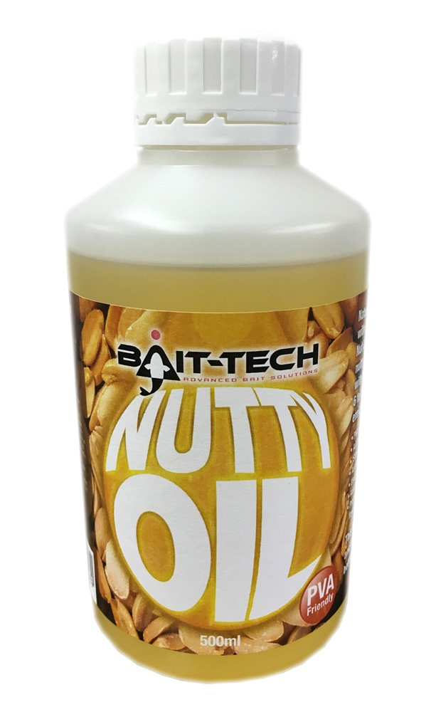 BAIT-TECH Tekutý olej - Nutty Oil 500ml