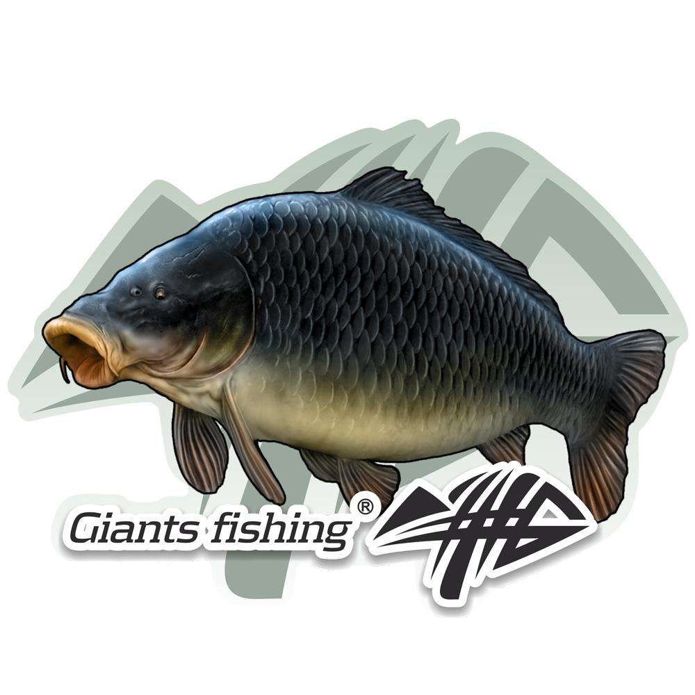 Giants fishing Nálepka velká - Kapr šupináč