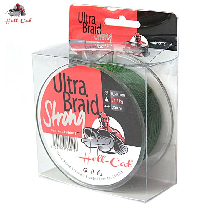 Hell-Cat Ultra Braid Strong 0,48mm, 36,4kg, 200m