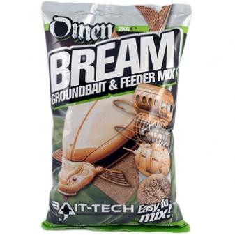 Bait-Tech Krmítková směs Omen Bream Groundbait & Feeder Mix 2kg