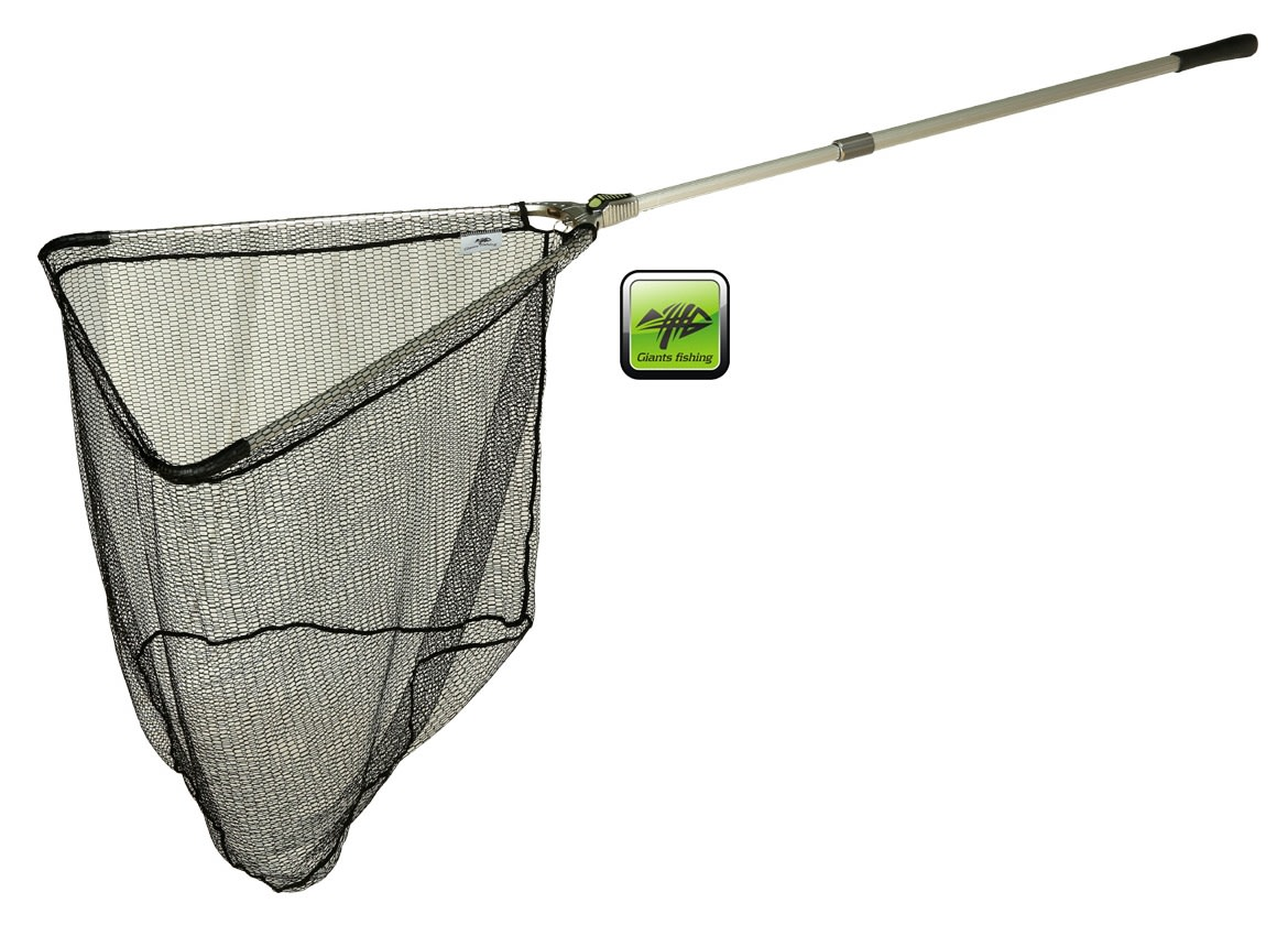 GIANTS FISHING Podberák Strong Alu Landing Net (2.2m, 70x70cm)