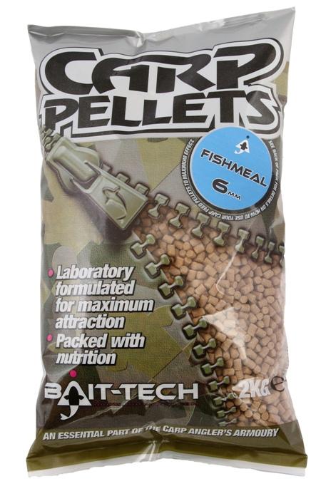 Bait-Tech Pelety Fishmeal Carp Feed Pellets 2mm, 2kg