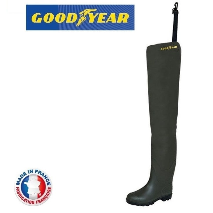 Goodyear Holinky Hip Waders Cuissarde SP Green|vel.39