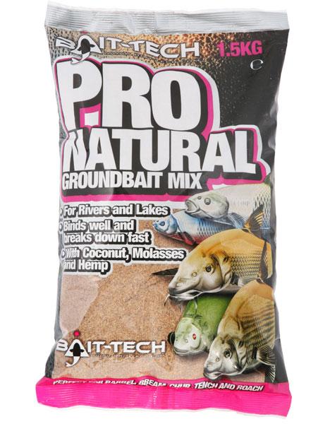 Bait-Tech Krmítková směs Pro-Natural Dark G/bait 1,5kg