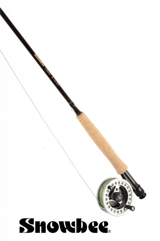 Prut Snowbee Classic Fly 6ft, #2/3, 4-díl