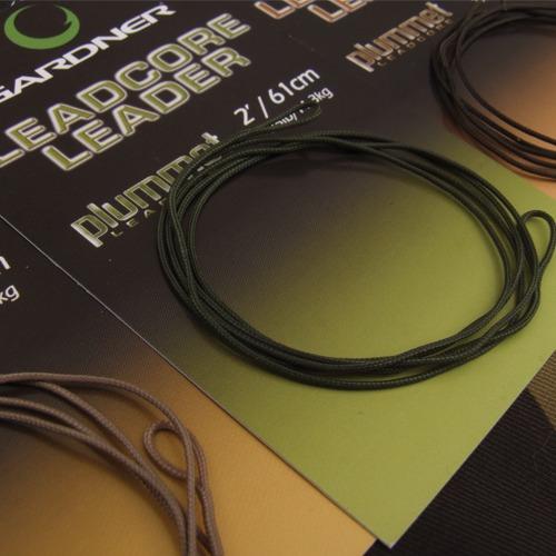 Gardner Návazec s olověnkou Plummet Leadcore Leader 91cm|Green (zelený)