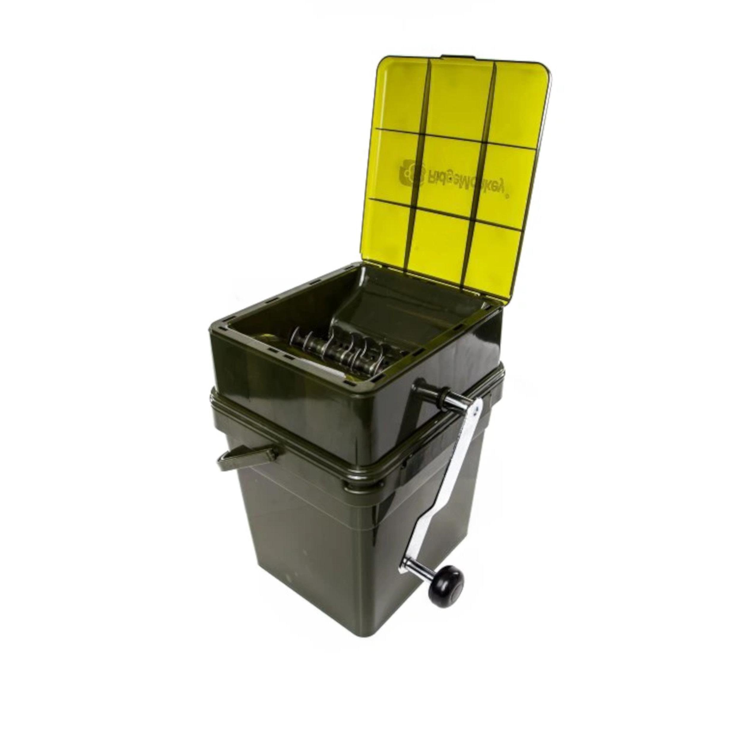 RidgeMonkey Drtička Advanced Boilie Crusher - set ABC + kýbl 17l (RM045)