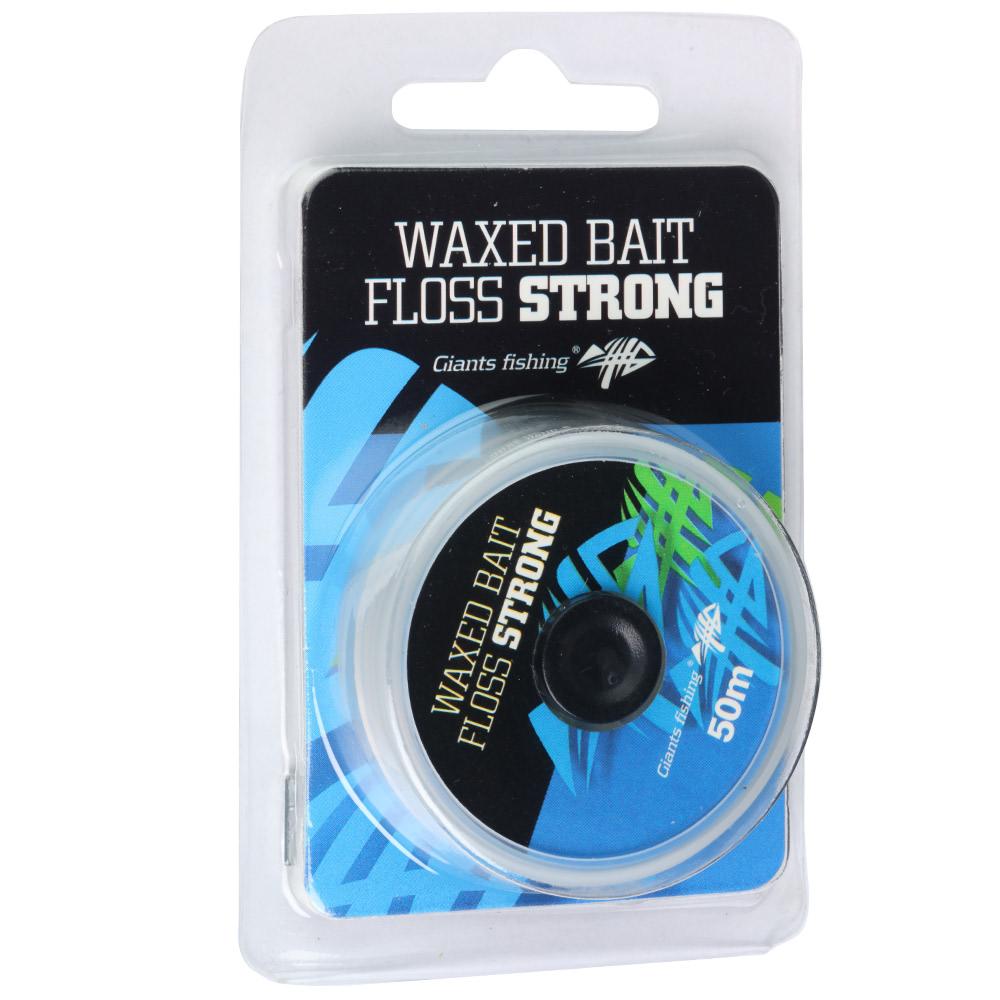 Giants fishing Šňůrka Waxed Bait Floos Strong 50m